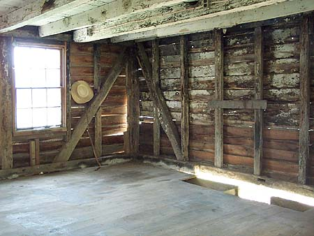 18th century kitchen quarters